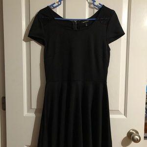 Heartsoul black lace Dress medium